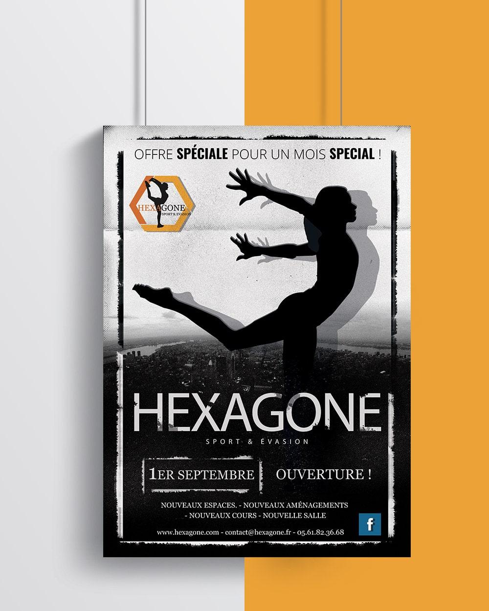 Hexagone Flyer