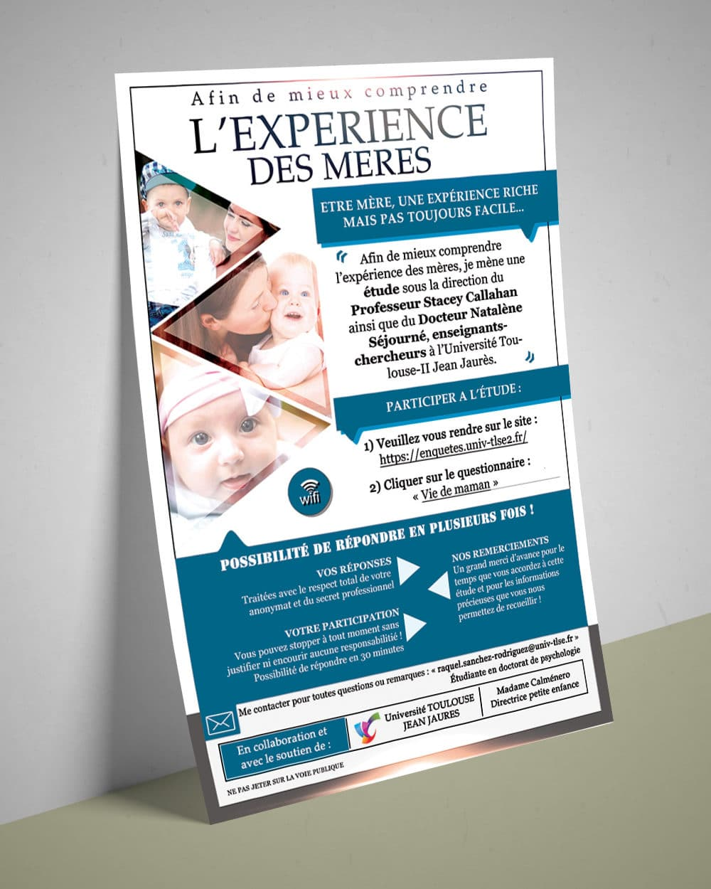 Flyer Experience maman