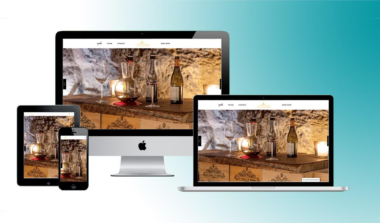 Création de site internet vin et spiritueux