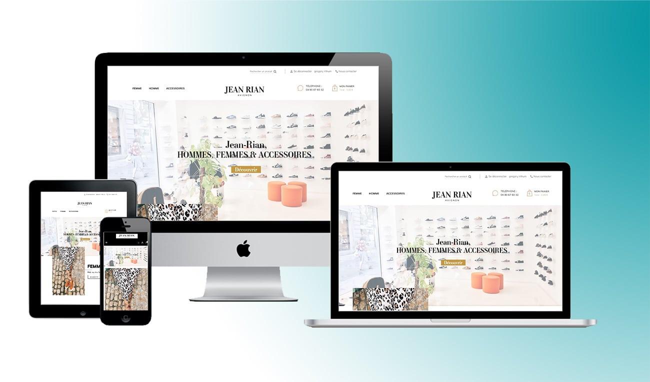 Boutique en ligne, Jean-Rian